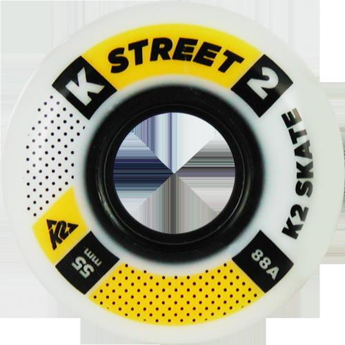 K2 Street 55mm/88A - 4 Rollen