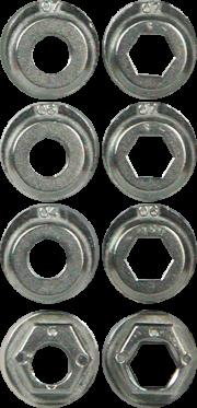 K2 Aluminium-Frame-Spacer Set - 8 Paar