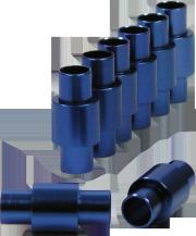 Powerslide 6,3mm Aluminium-Spacer Set - 8 Stück