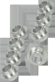 Powerslide 8mm Aluminium-10,5-Spacer Set - 8 Stück