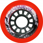 Hurricane 76mm 85A - 8 Rollen