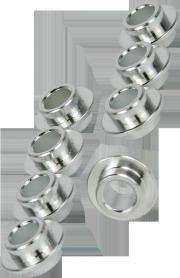 Rollerblade 8mm Aluminium-10,0-Spacer Set - 8 Stück