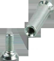 Rollerblade Achse kurz 4-Zahn 8mm - Original Rollerblade