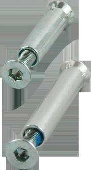 Rollerblade Achsen-Set 4-Zahn 8mm - Original Rollerblade
