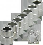 Rollerblade 8mm Aluminium-Micro-Spacer Set - 8 Stück